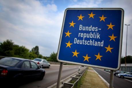 Grens met Duitsland